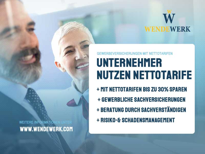 Sachversicherung_Nettotarife